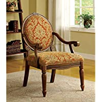 247SHOPATHOME Idf-AC6024 Armchairs, Brown