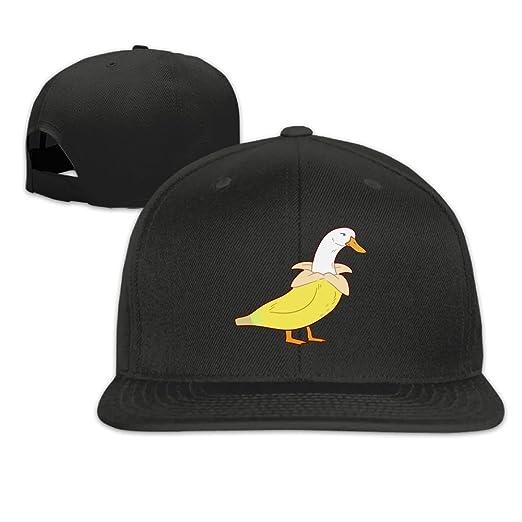 HHNYL Duck Banana Snapback Cap Flat Bill Hats Adjustable Blank Caps for  Men Women at Amazon Men s Clothing store  da6701d03ce