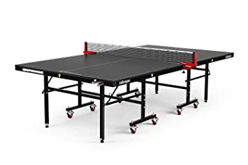 Killerpin MyT5BlackPocket Table Tennis Table   Premium Pocket Designed Ping  Pong Table With Thick Durable Frame