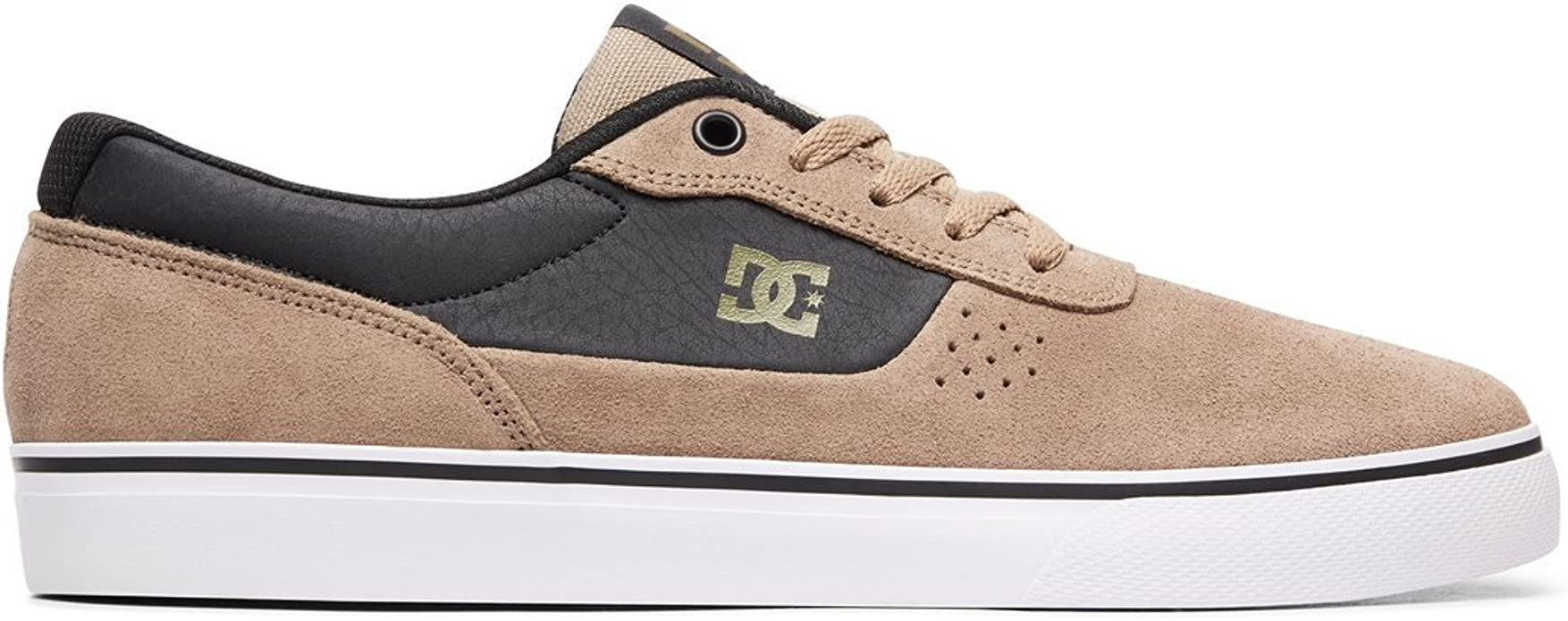 DC Shoes Switch S Sneakers Herren Beige (Timber)