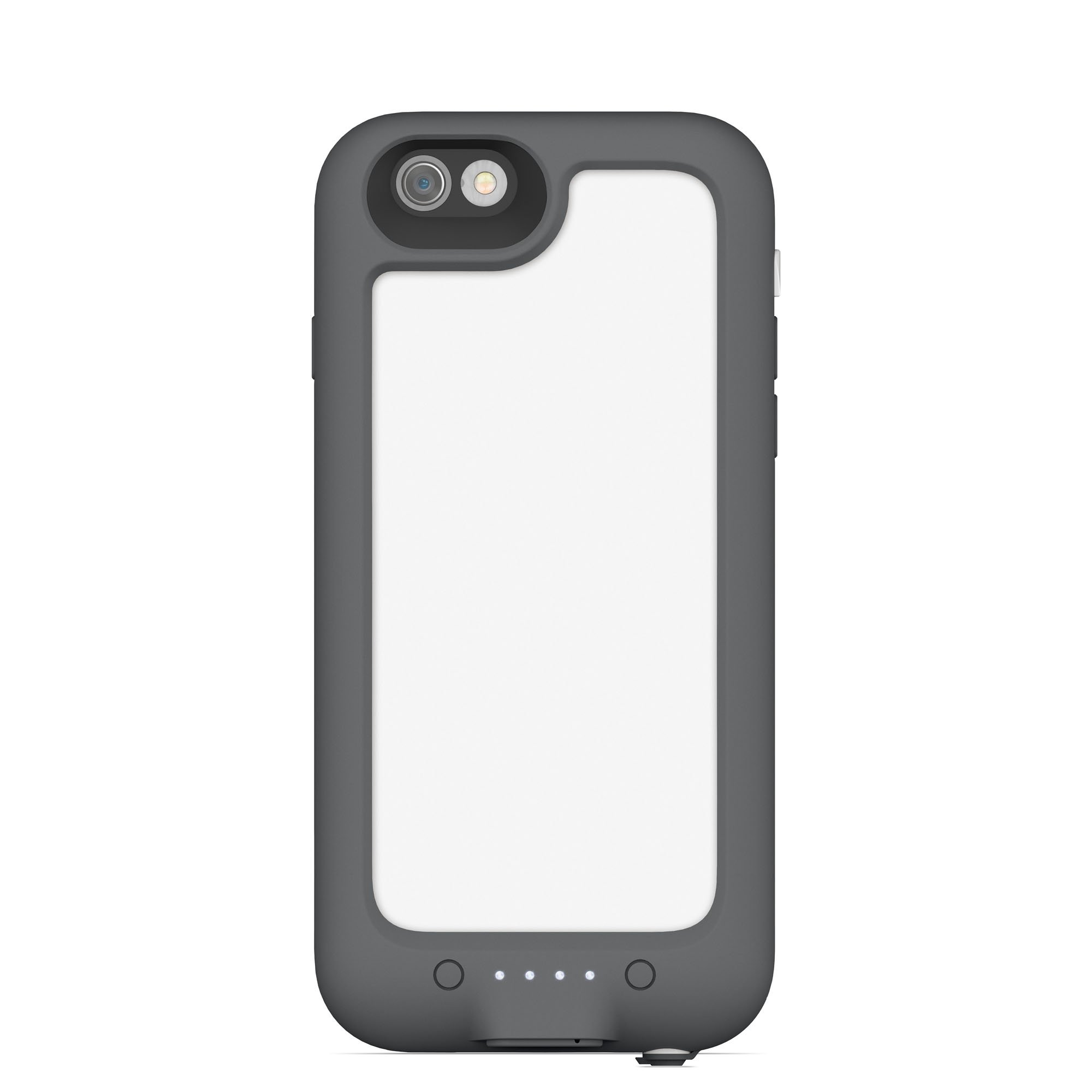 mophie juice pack H2PRO - Waterproof Mobile Protective Battery Pack Case for iPhone 6/6s - White by mophie (Image #2)