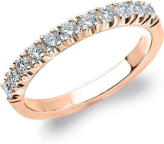 Amazon Com 50ct Genuine Diamond Ring 4 Prong Wedding