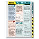 ComplyRight Fast Answers Quick Reference Cards: General OSHA Safety