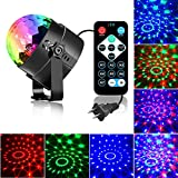 Party Lights Disco Ball Light, XG-WIN Sound Activated Strobe Light 7 Lighting Color with Remote Control for Black Light Party Supplies, Karaoke, Parties, Birthday,DJ,Bar,Club,Pub,Wedding