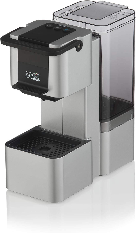 Máquina Café Caffitaly Iris gris + 60 Cápsulas mixtas (): Amazon ...
