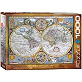 EuroGraphics New and Accurate Map of The World Puzzle (1000-Piece)