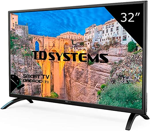 Televisor Led 32 Pulgadas HD Smart, TD Systems K32DLM8HS. Resolución 1366 x 768, 3X HDMI, VGA, 2X USB, Smart TV.: Amazon.es: Electrónica