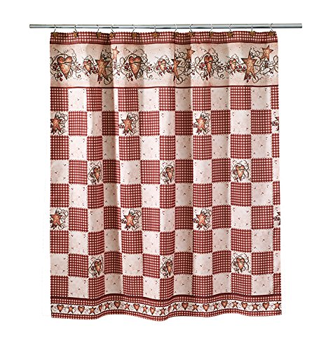 Avanti Linens 13008H MUL, Shower Curtain, Multicolored - The towels are 100% cotton Fashionable, decorative bath accessories Top quality - shower-curtains, bathroom-linens, bathroom - 61c5oouQvNL -