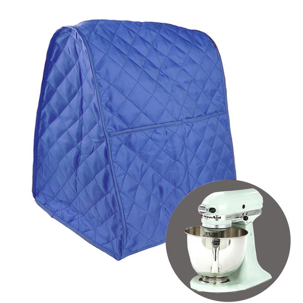 Stand Mixer Cover Dust-proof with Organizer Bag Universal Fit for All the Kitchenaid Mixer (Blue)