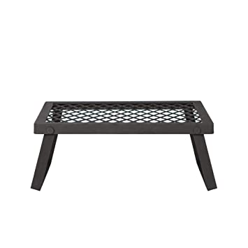 Amazon.com: AmazonBasics Parrilla plegable para chimenea ...
