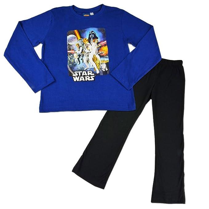 Star Wars - Pijama dos piezas - para niño: Amazon.es: Ropa y accesorios