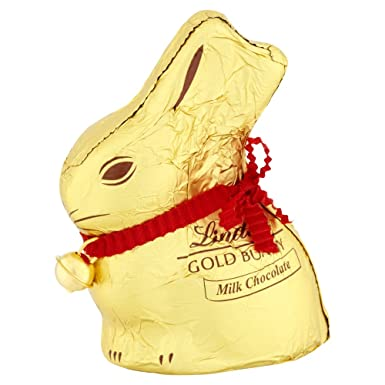 Lindt Gold Bunny Milk Chocolate 50 G Pack Of 16
