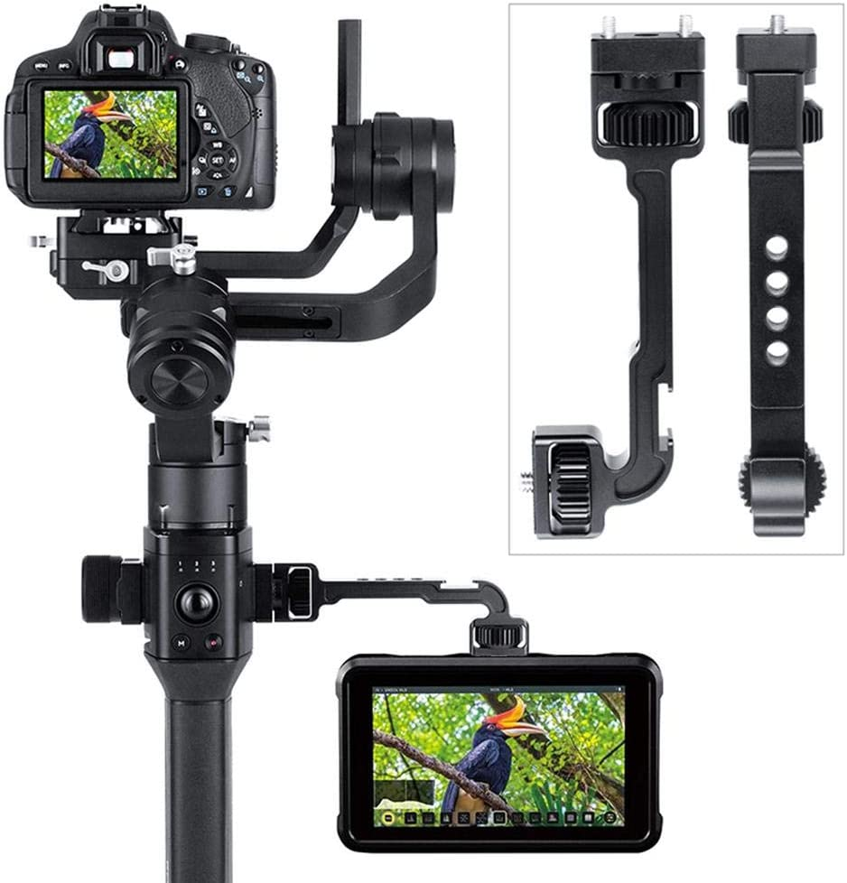 Multifunctional Extension Arm,DH11 All-in-1 Extension Bracket,for Monitor LED Video Light Rotated Monitor Arm