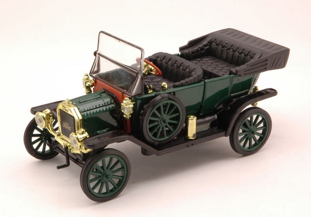 Amazon.com: 1910 Ford Model T Automobile Tin Lizzie by Newray 1:32 ...