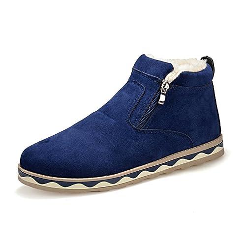 Zapatos marrones con cremallera Eagsouni para hombre 5eiTQ7