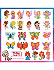 Shmily 5D DIY Diamond Painting Stickers Kits for Kids Adults Beginners with Princess Animal Butterfly Diamonds Painting - Kids Popular Gift