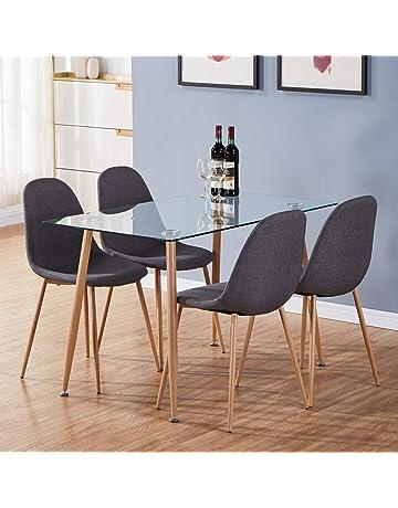 Surprising Dining Table Sets Shop Amazon Uk Machost Co Dining Chair Design Ideas Machostcouk