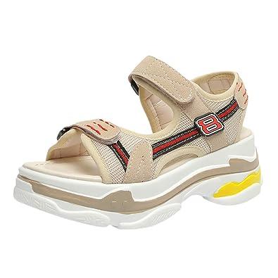 À Pour Marche chaussures Été Randonnée Sandales Zeeliy Scratch Plates chaussures Réglable voyage Confortable Cuir Femme De En fgv6ybY7