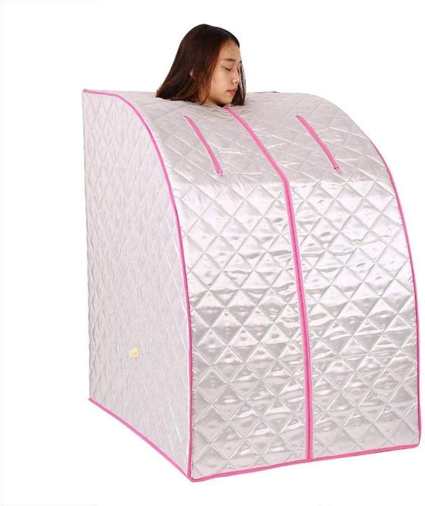 AILY Portable Steam Sauna Spa, 2L Personal Therapeutic Sauna for Weight Loss Detox Relaxation at Home,One Person Sauna with Remote Control for Home