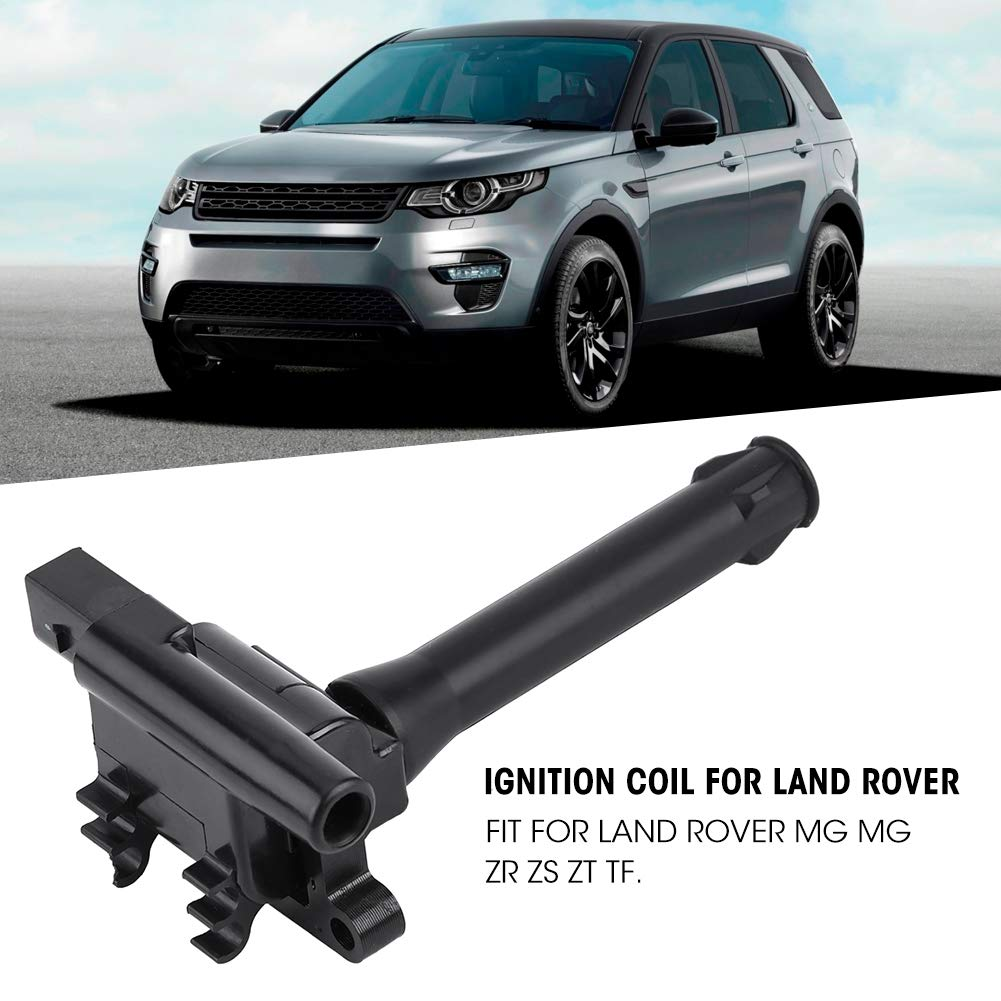 Hlyjoon Ignition Coil NEC000120L Ignition Coil Fit NEC000120 Car Repalce Ignition Coil NEC100730L Auto Engine Ignition Coil NEC100730 for MG ZR ZS ZT TF Car Accessory PBT Materiala