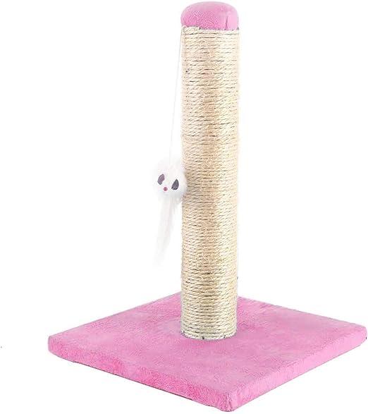 Nobleza – Poste rascador para Gatos de sisal con Juguete. Pequeño ...