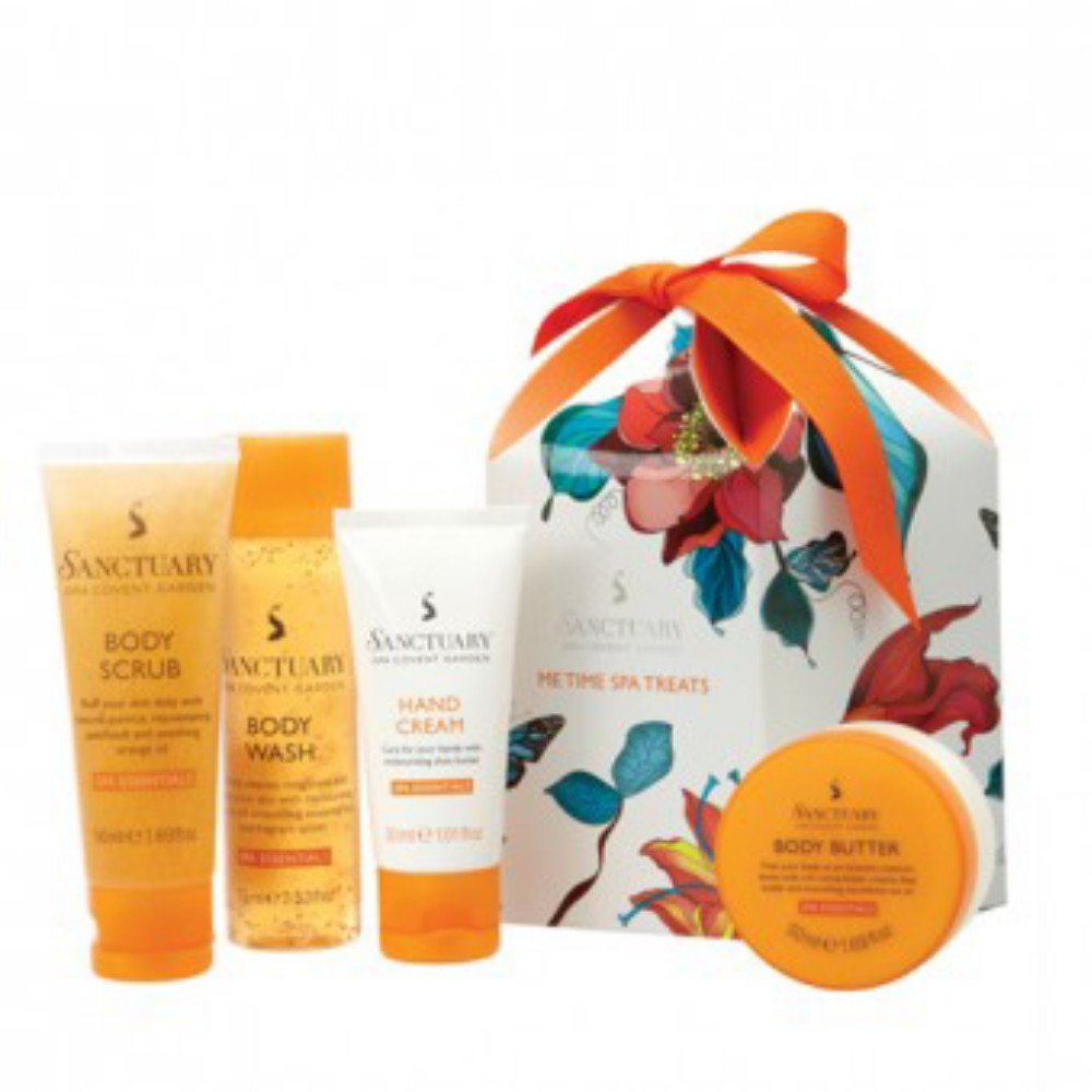 Amazon.com : Sanctuary Spa Covent Garden Me Time Spa Treats 4 Piece ...