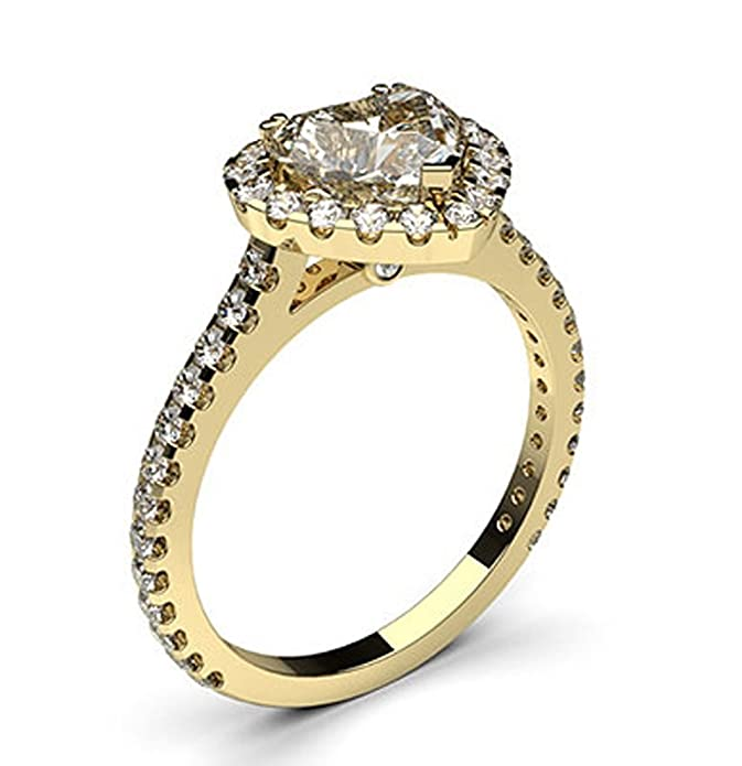 Anillo de boda 18 K amarillo oro https://amzn.to/2Z2w3pP