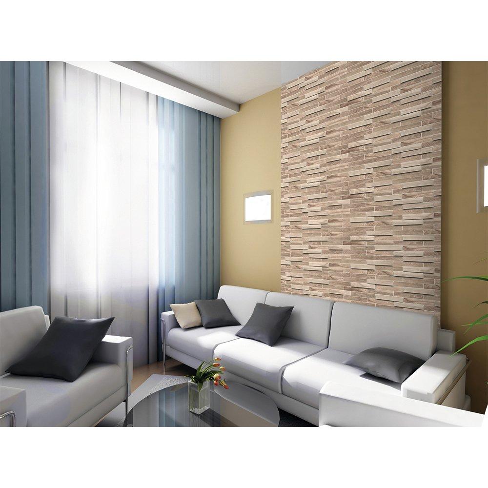 PVC 3D Wandplatte 980x480mm Küche Bad Diele Deko Mosaik ...