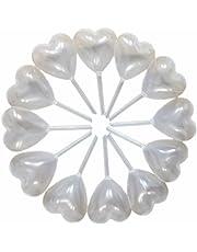 50 pcs 4 ml Squeeze transferencia pipetas de plástico en forma de corazón para magdalenas helado