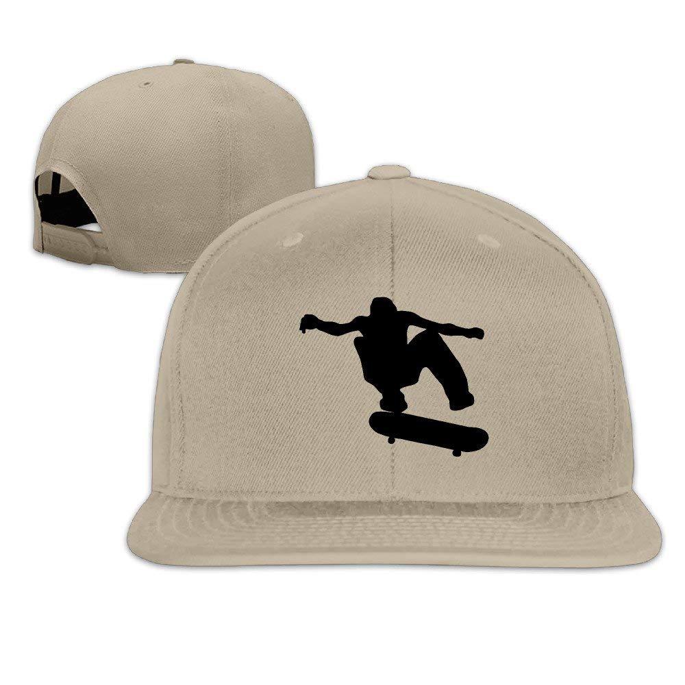 Sdltkhy Unisex Skateboard Skater Adjustable Sunscreen Trucker Hat ...