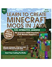 Coding for Kids: Learn to Code Minecraft Mods in Java - Video Game Design Coding Software - Computer Programming Courses, Ages 11-18, (PC, Mac Compatible)