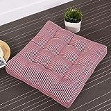 KSUNGB Thickening Square Shape Bay window Cushion Floor Sit Cushion, Pink, 525210cm