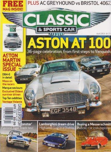 Classic & Sports Car Magazine April (Stutz Racer)