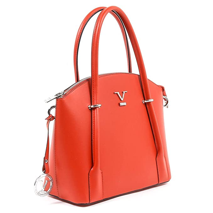 0da2ef46eb Amazon.com: ONE SIZE V 1969 Italia Womens Handbag V003-S RUGA ROSSO:  Clothing