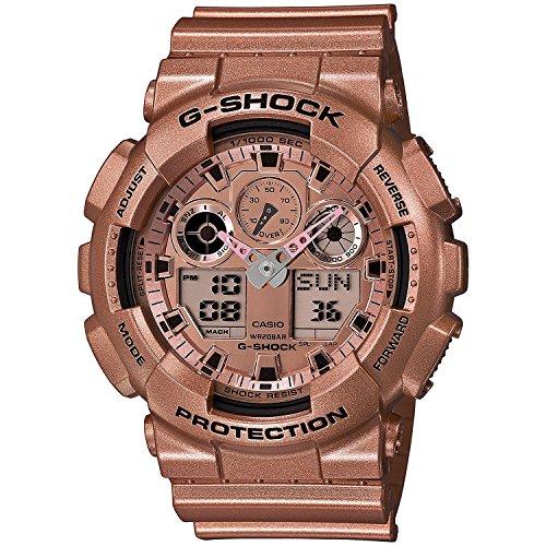 G-Shock Men's GA100GD-9A Watch Gold