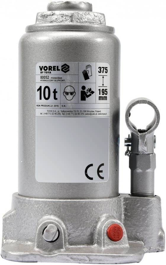 Hydraulik Stempel Flaschen Wagenheber Stempelwagenheber 10 T Baumarkt