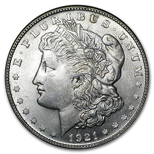 1921 S Morgan Dollar BU $1 Brilliant Uncirculated