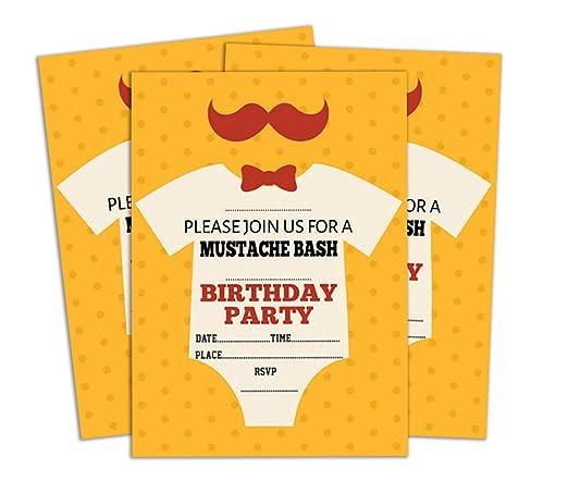 Darling Souvenir Invitación del cumpleaños de Naranja ...