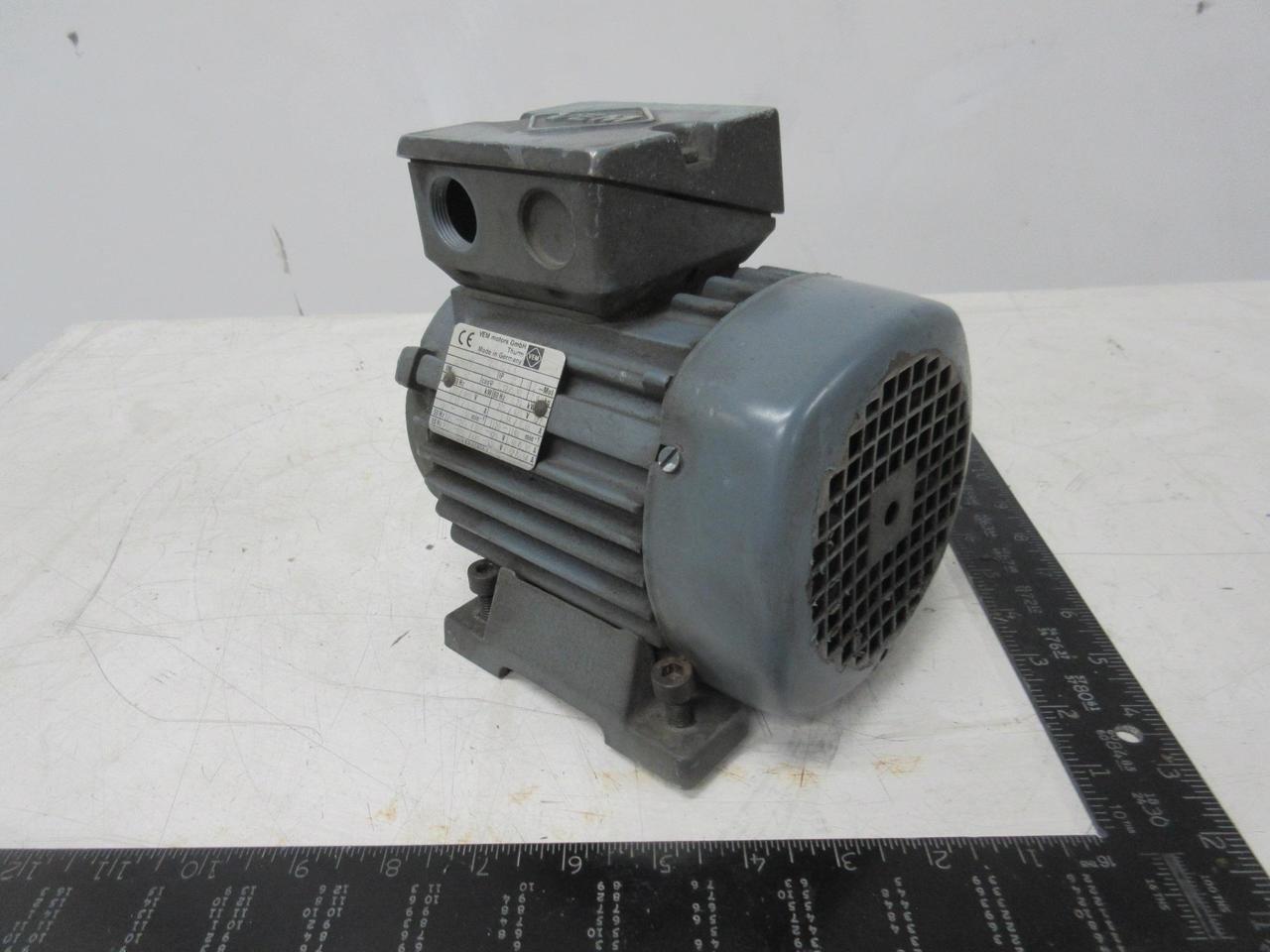 VEM Motors K21R 71 K 6 Motor 50 Hz 0.18 kW 60 Hz 0.21 kW T103703