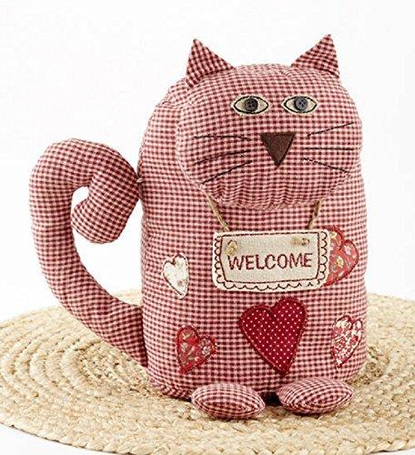 Delton Products Cat Door Stop, Red -