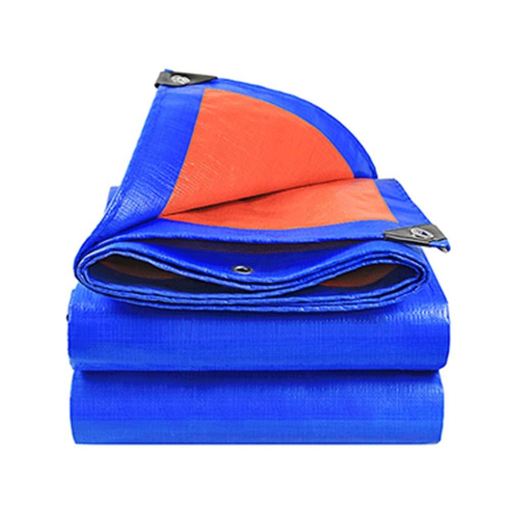8×10m JDKC- BÂche De Camping en Plein Air, BÂche Isolante Imperméable Rembourrée for écran Solaire (Couleur  Bleu Orange, Taille  3 × 3m - 10 × 10m) (Taille   3×5m)