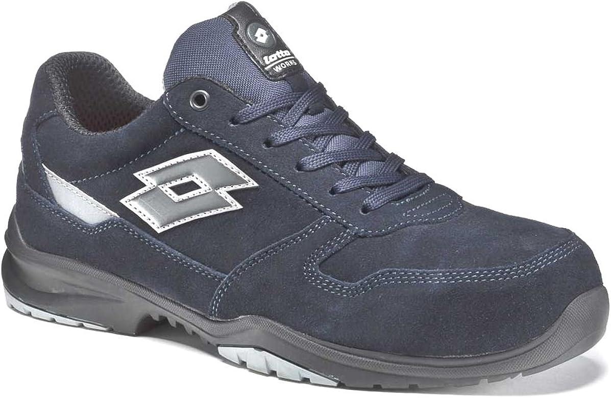 Lotto Zapato de Seguridad Lote Mod. Flex EVO 700Memory Foam S3HRO SRC–Art. S1202–Navy Dark/Titan Grey
