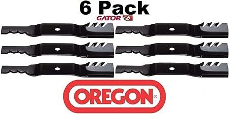 3 Pack Oregon 391-613 Mower Blade Gator G6 Fits Kubota K5583-34350