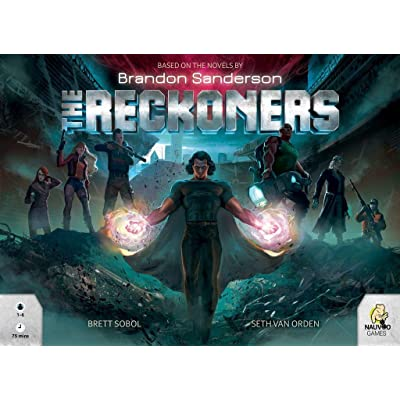 Nauvoo Games The Reckoners Board Game: Toys & Games