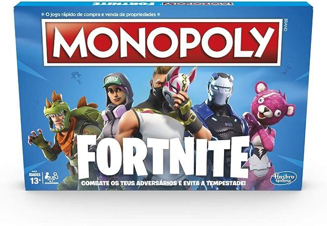 Monopoly Fortnite (Versión Española), multicolor, Talla Única ...