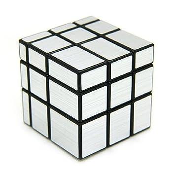 Premsons 3x3x3 Speed Silver Mirror Magic Cube - Fast & Smooth / No Stuck/ Stickerless