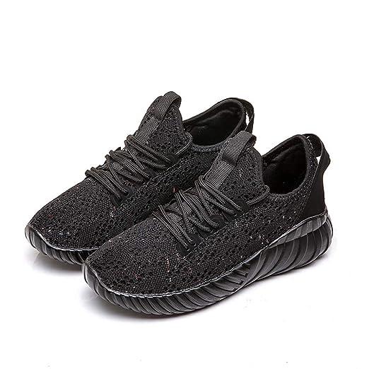 beautyjourney Zapatillas de Malla de Mujer Zapatos Casuales de Verano Calzado Deportivo al Aire Libre con Almohadilla de Aire Zapatillas Ligeras ...