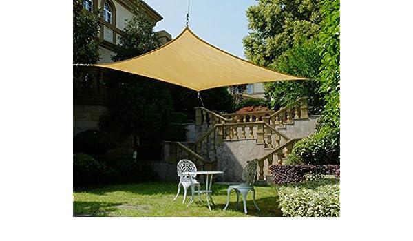Cool Area cuadrado 4, 5 x 4, 5 m Toldo parasol Toldo, protección ...