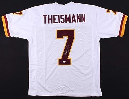 classic fit c7749 14e0f Joe Theismann Autographed White Washington Redskins Jersey ...