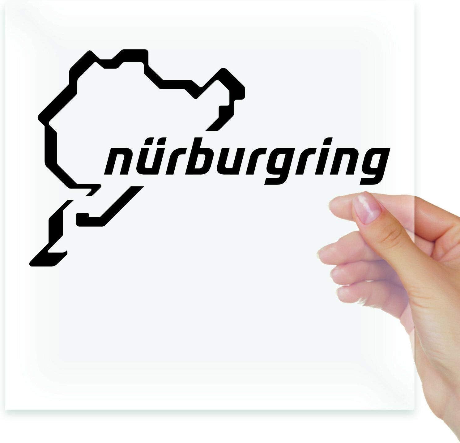 Nurburgring Racing Map Vinyl Sticker Decals